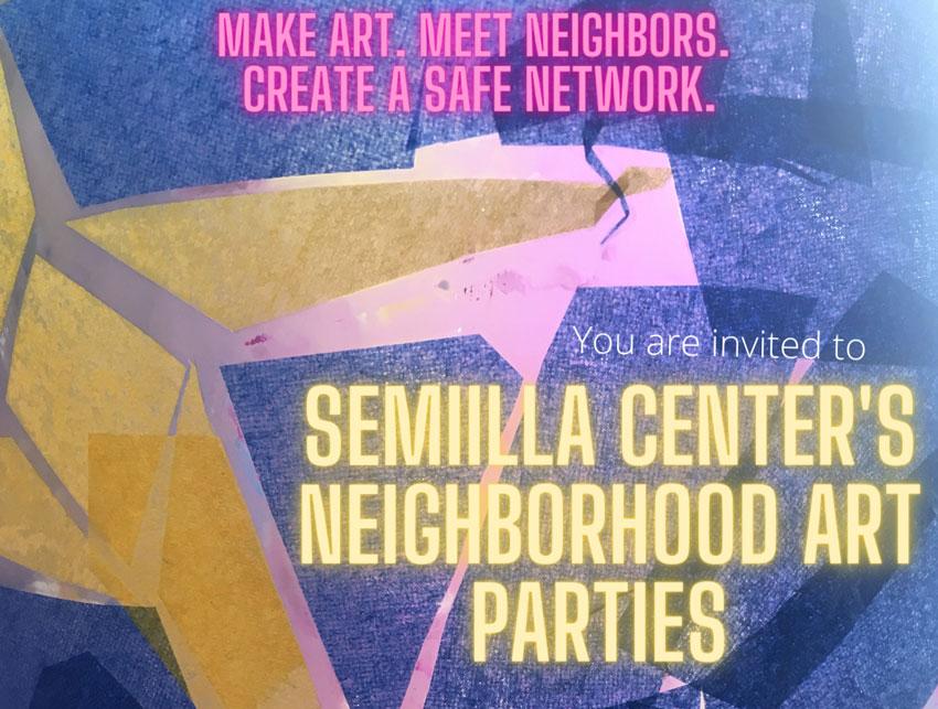 Neighborhood Art Parties Updates